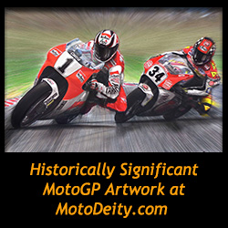 Historically Significant MotoGP Artwork at MotoDeity.com