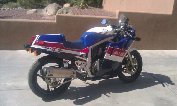 1986 Suzuki GSX-R 750 Limited For Sale